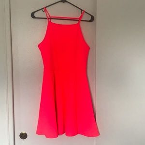 H&M Hot Pink Dress